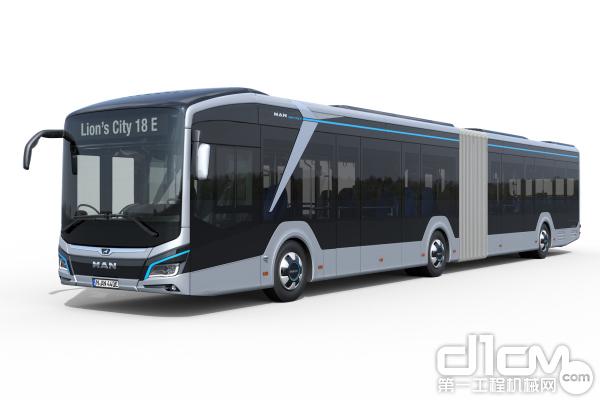 Lion's City 18E 18米车长可提供更多乘坐空间