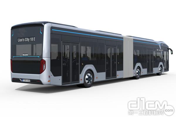 Lion's City 18E 铰接式设计