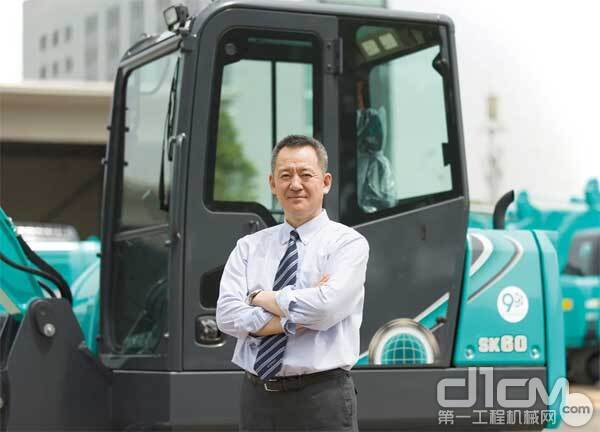 神钢建机(中国)有限公司中经理西岡基司