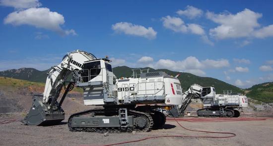 利勃海尔R 9150B矿用挖掘机陆续交付中国市场
