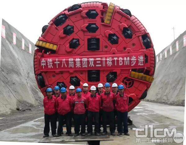 铁建重工TBM创造了多项同类型隧道TBM施工最高记录
