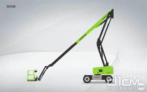中联重科纯电动曲臂式高空作业平台ZA20JE
