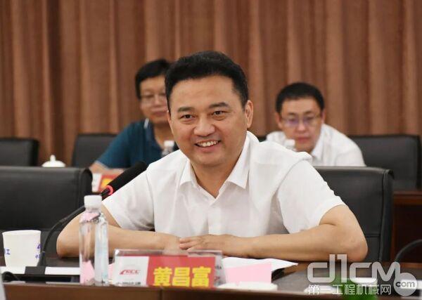 中铁十五局总经理黄昌富