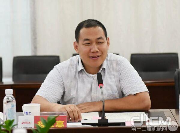 铁建重工党委副书记、总经理程永亮