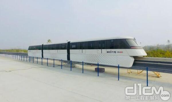 中国中铁首辆氢能源有轨电车
