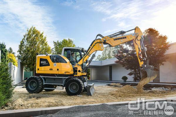 利勃海尔在海外推出两款符合国五排放标准的新型轮式挖掘机