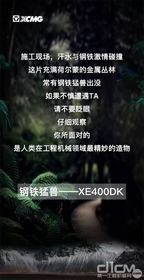 徐工挖机XE400DK