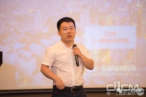 北京三一智造研究院工法所马博士,介绍三一旋挖产品
