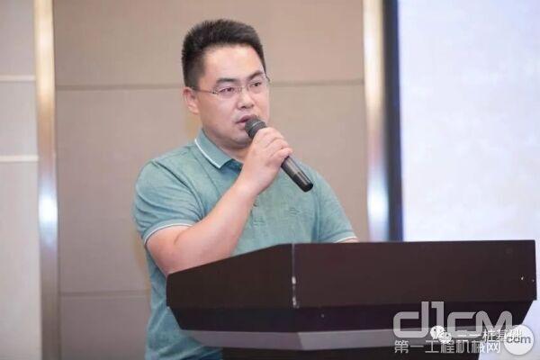 武汉盛士瑞建设工程有限公司总经理杨总致辞,分享项目经验