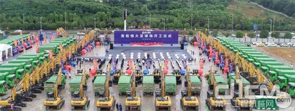 百台汉风G7环保渣土车惊艳亮相