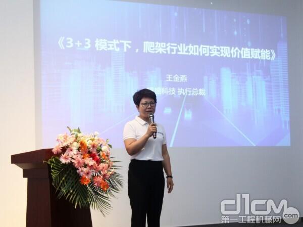 韬盛科技执行总裁王金燕