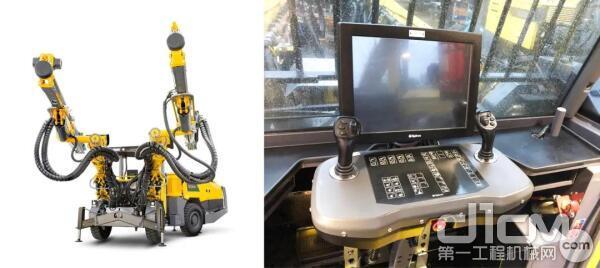 Boomer S2 C 电脑版掘进凿岩台车