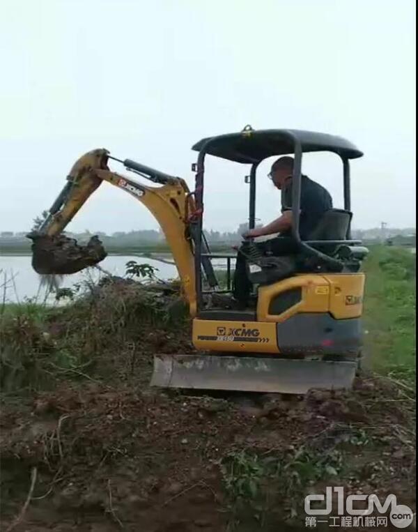 徐工挖机客户刘先生