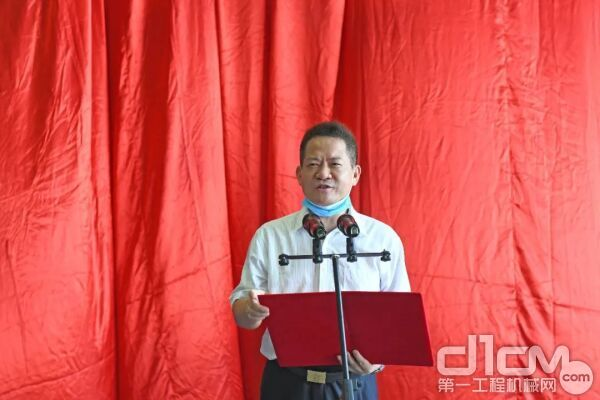 广州市水务投资集团有限公司总经理吴学伟致辞