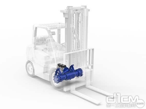 德纳推出适用于叉车的全新电动马达及驱动桥