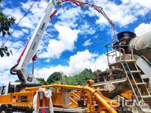 徐工V7系列泵车历经众多极限工况考验