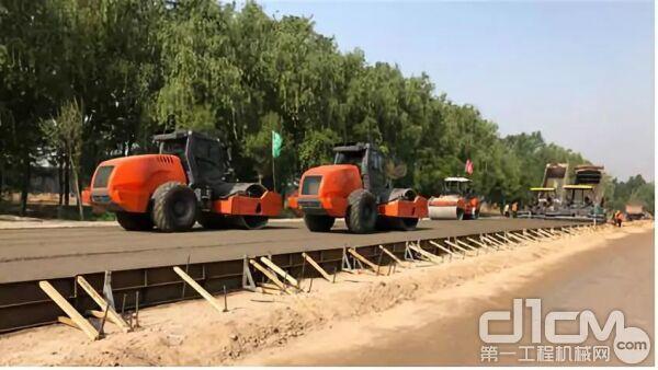 河南省道S101升级改造的项目
