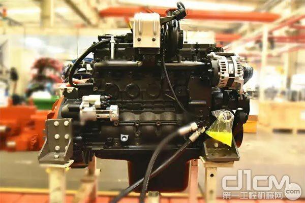 雷沃FR205E2-H挖掘机配置了出色的动力系统