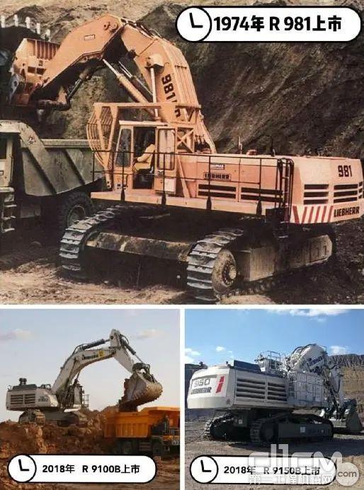 利勃海尔设计、生产及销售矿用液压挖掘机的历史悠久