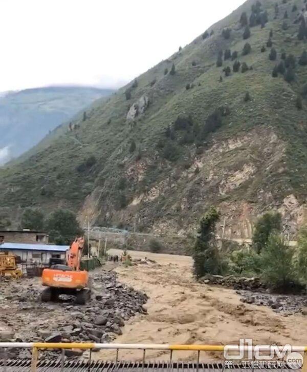 四川中辰阿坝区域泥石流
