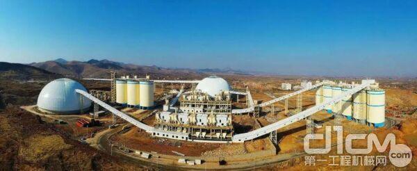 济钢集团环保新材料产业园是山东省新旧动能转换重大工程项目