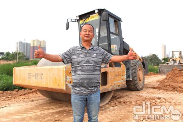 蒲城铜车马工程机械购买三一压路机交机仪式