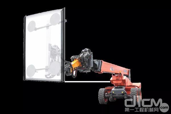 差异化领域:大吸力玻璃吸盘车
