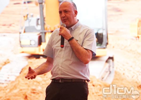 Luca Mainardi 凯斯纽荷兰工业集团中国区总裁