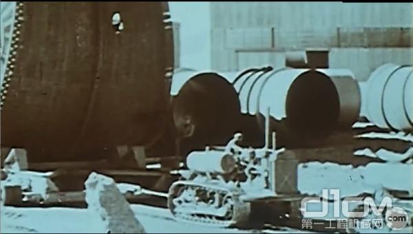 卡特彼勒履带式推土机用于胡佛大坝的修建