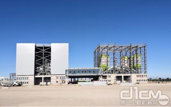 呼和浩特沙尔营建筑材料产业园商品混凝土生产线