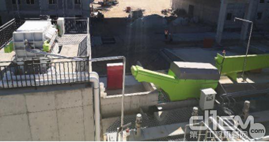 湿混凝土回收系统