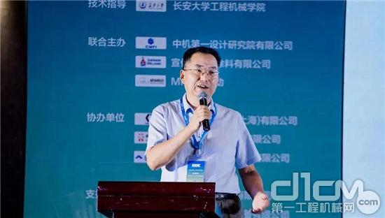中国365bet体育工业协会<a href=http://product.d1cm.com/lumianjixie/ target=_blank>筑养路机械</a>分会秘书长张西农
