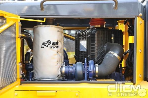 没有液力机型的变速箱、变矩器、中央传动等部件,整机保养成本得以降低。