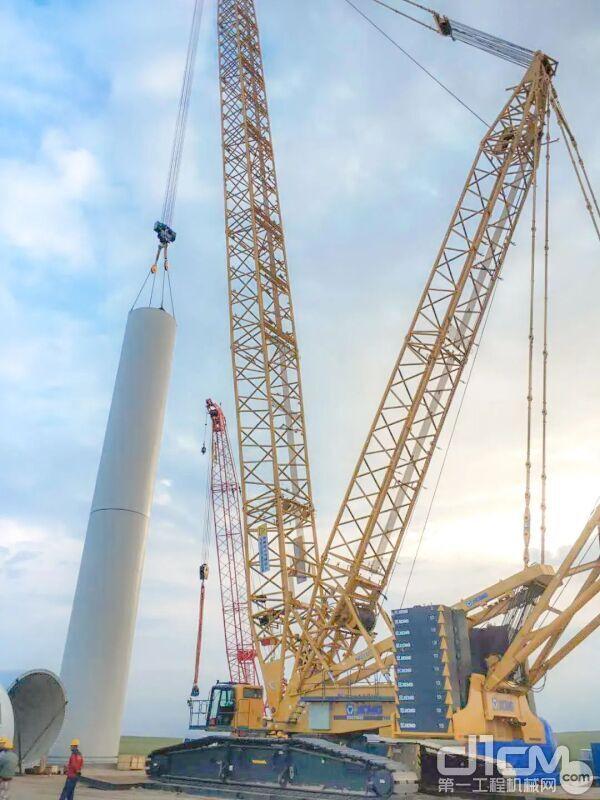 华电金山内蒙古苏尼特左旗225MW风电项目