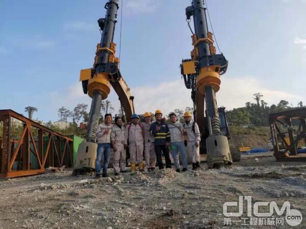 泰信的模块式旋挖进驻印尼