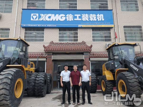 徐工机械副总裁、铲运机械事业部总经理、党委书记王庆祝到陕西区域实地考察了直营公司