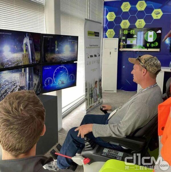 全球最远距离挖掘机远程操作体验