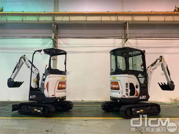 山猫E17Z与E20Z小型挖掘机