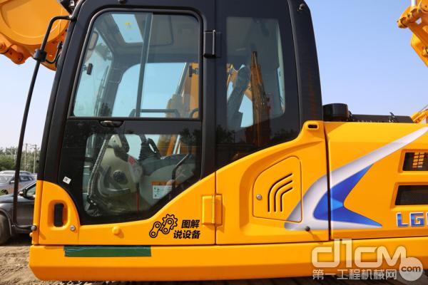 LG6135采用新型驾驶室