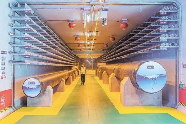"""近百条管线整齐入""""廊"""" 武汉提速地下综合管廊建设"""