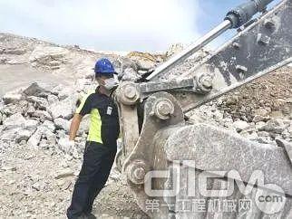 沃尔沃挖机服务工程师