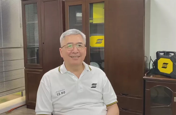 伊萨焊接切割器材(上海)管理有限公司技术总监 詹贯一