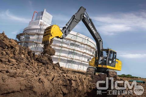 約翰迪爾新型號200G挖掘機將于北美上市