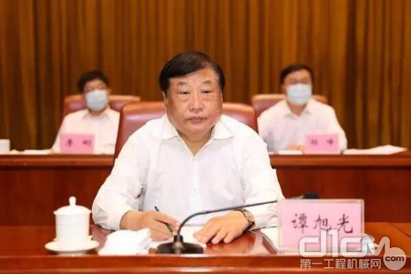 """谭旭光表示:""""人才不是成本,而是最大的资本"""""""