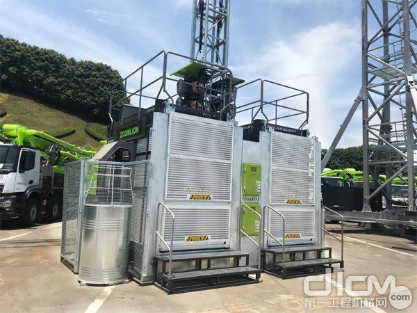 △全新一代节能型施工升降机SC200/200EB(BWM-4S)