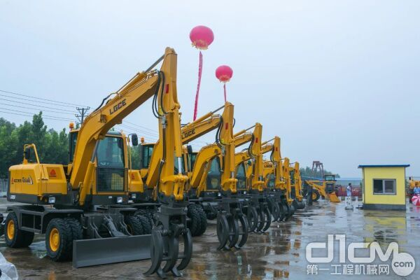 LG95F轮式挖掘机