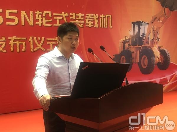 厦门厦工机械股份有限公司总裁林春明致辞