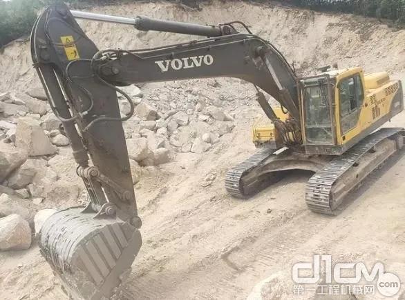 沃爾沃EC360BLC挖掘機