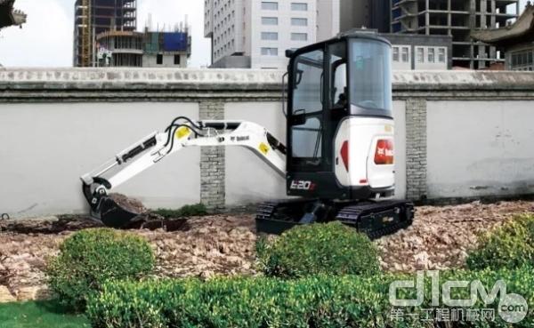 山猫推出的本土化微挖E20Z