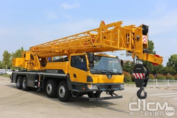 柳工40吨汽车起重机